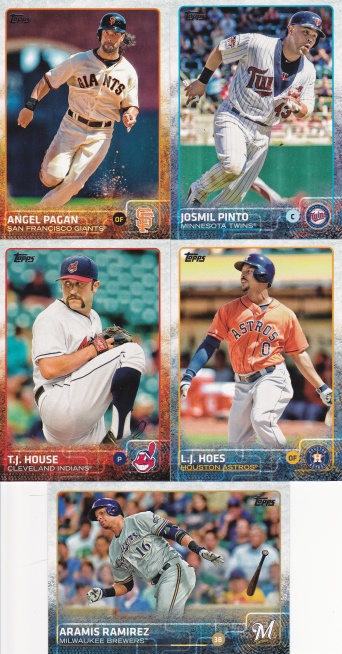 2015 Topps s2 base more good photos