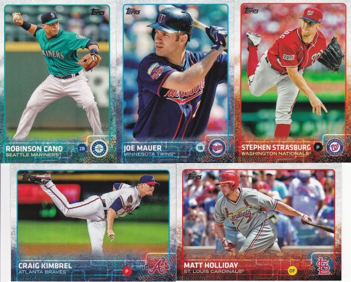 2015 Topps s2 base stars doing poorly