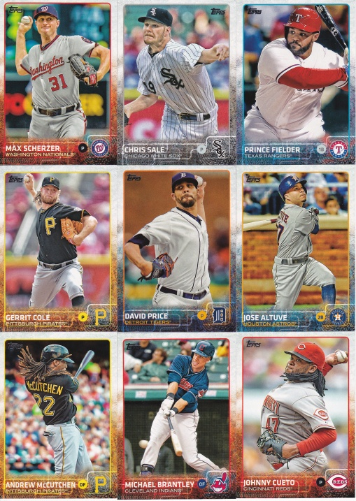 2015 Topps s2 base stars doing well
