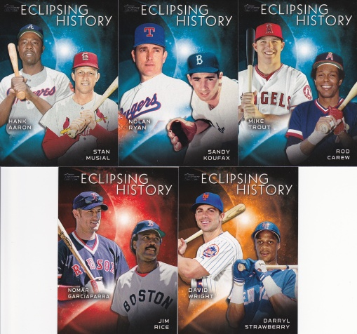 2015 Topps s2 Eclipsing History