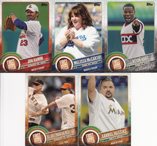 2015 Topps s2 First Pitch