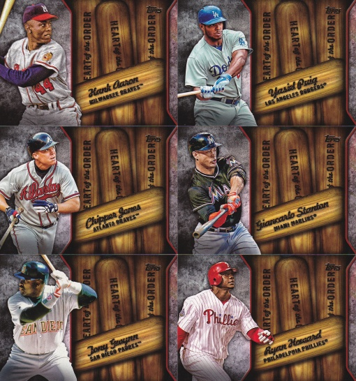 2015 Topps s2 Heart of the Order