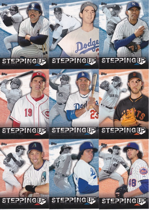 2015 Topps s2 Stepping Up