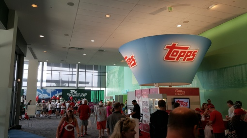 Fanfest 2015 Topps booth