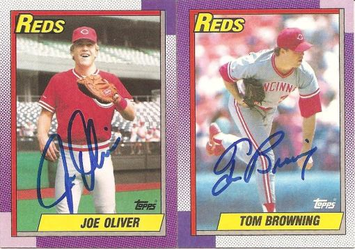 Fanfest auto 90 Topps Browning Oliver