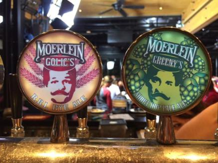 Moerlein Mike & Mike taps
