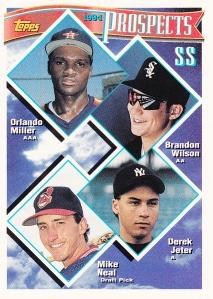 1994 Topps Derek Jeter Prospect card