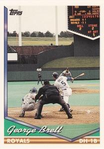 1994 Topps George Brett best card