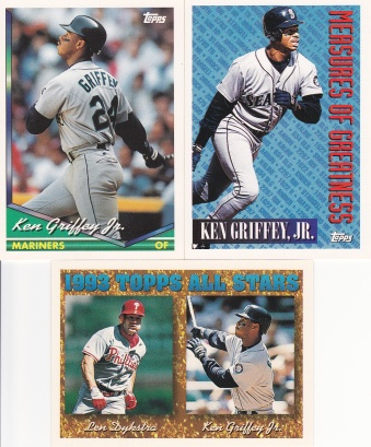 1994 Topps most cards Griffey