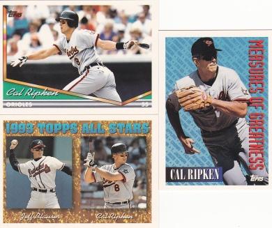 1994 Topps most cards Ripken