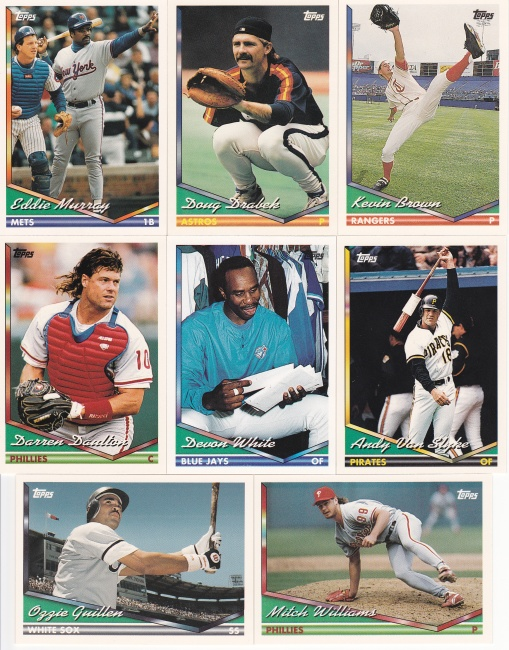 1994 Topps other great cards