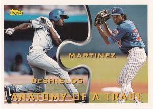 1994 Topps Traded 42T Pedro Martinez Delino DeShields Trade