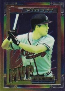 1994 Topps Traded Finest Insert Greg Maddux