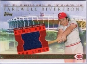 2003 Topps BRM Farewell to Riverfront Bench