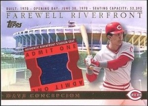 2003 Topps BRM Farewell to Riverfront Concepcion