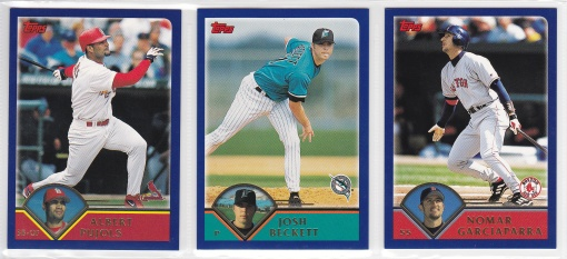 2003 Topps Pre-Production