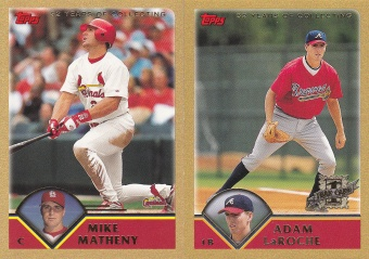 2003 Topps s1 box Gold