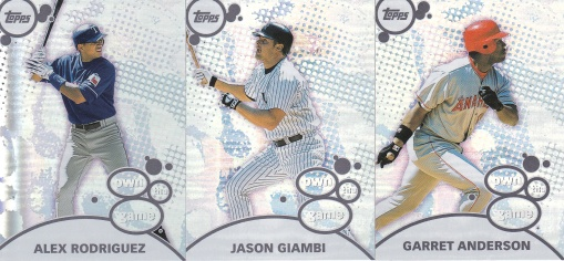2003 Topps s1 box Own the Game
