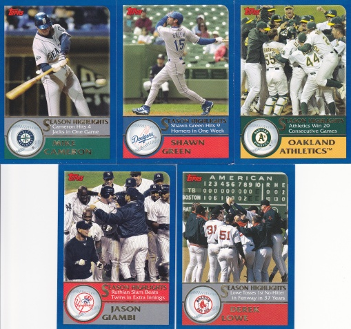 2003 Topps Season Highlights