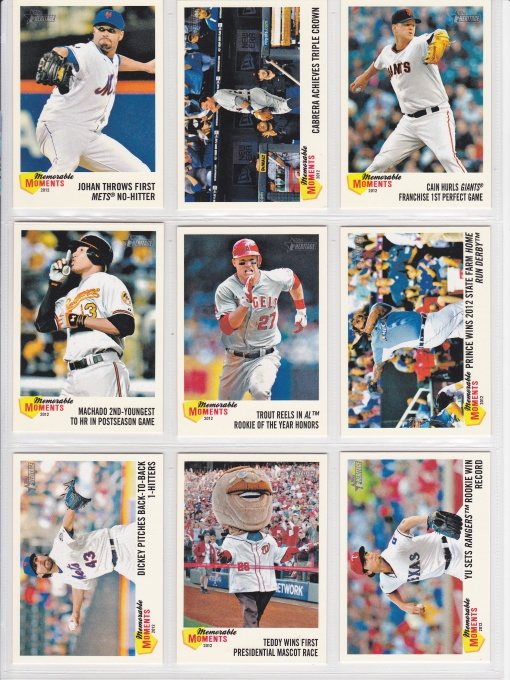 2013 Topps Heritage Memorable Moments_0001