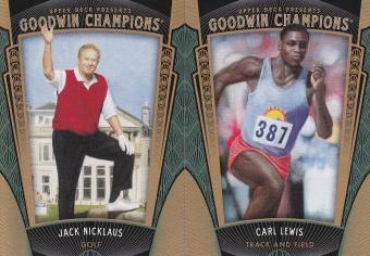 2015 Goodwin Box 1 Jack Nicklaus Carl Lewis