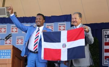 Pedro Marichal flag at BB HOF
