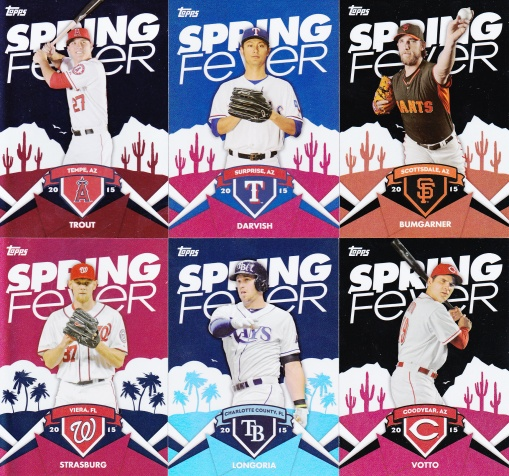 Trade Addiction as Therapy - 2015 Topps Spring Fever