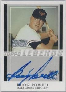 2003 Team Topps Legends Boog Powell