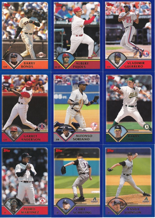 2003 Topps best of the best