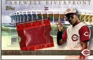 2003 Topps BRM Farewell to Riverfront Larkin