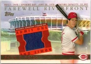 2003 Topps BRM Farewell to Riverfront O'Neill