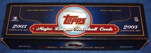 2003 Topps Factory set blue retail