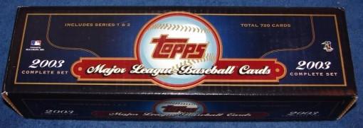 2003 Topps Factory set blue retail