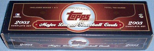 2003 Topps Factory set brown hobby