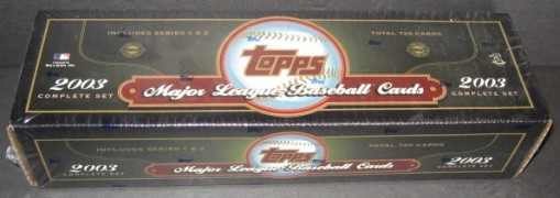 2003 Topps Factory set HTA green