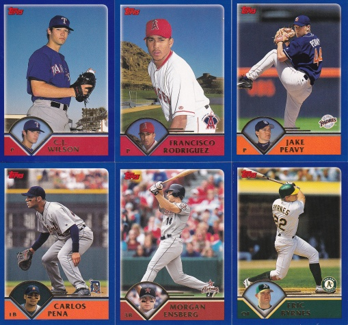2003 Topps first single cards