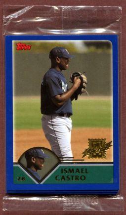 2003 Topps First Year bonus cards
