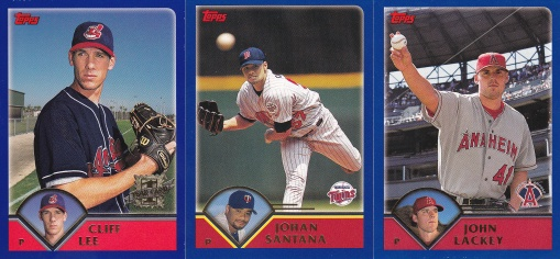2003 Topps FTC Cliff Lee Santana Lackey