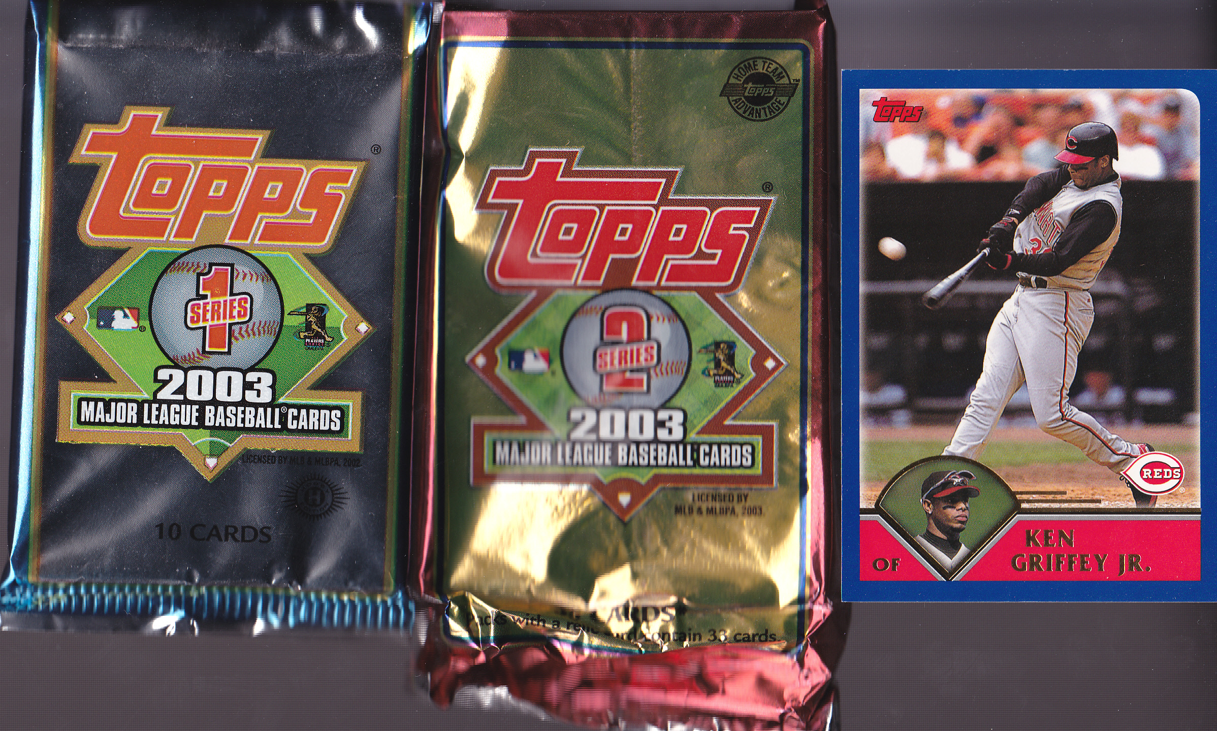2003 Topps Overview Lifetime Topps Project