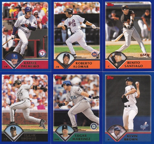 2003 Topps near the end