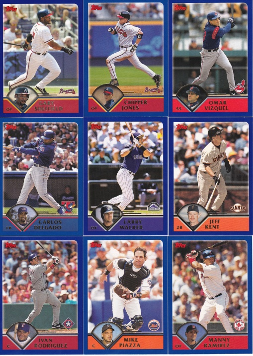 2003 Topps other great hitters
