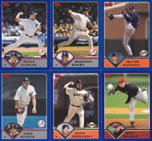 2003 Topps other great pitchers