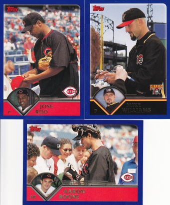 2003 Topps players signing