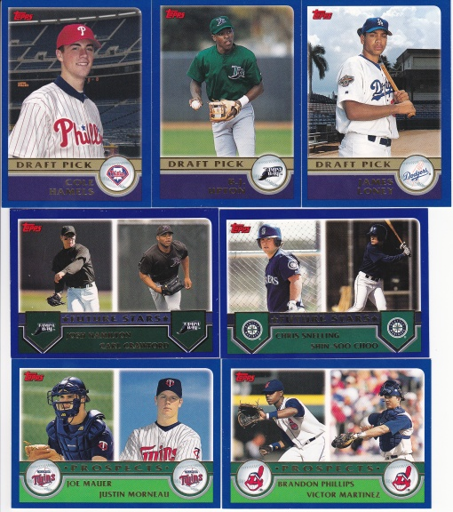 2003 Topps Prospects DPs Future Stars