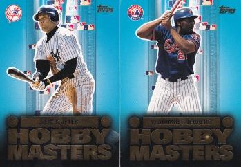 2003 Topps s1 HTA box Hobby Masters