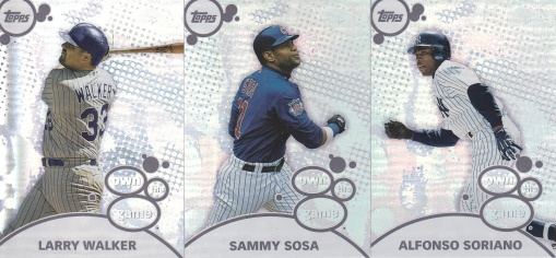 2003 Topps s1 HTA box Own the Game