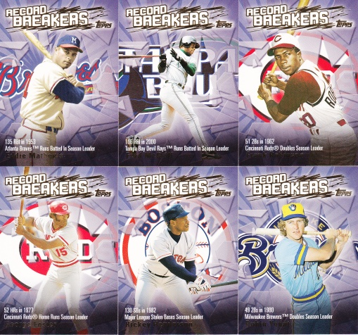 2003 Topps s1 HTA box Record Breakers