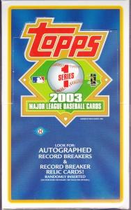 2003 Topps Series 1 hobby box