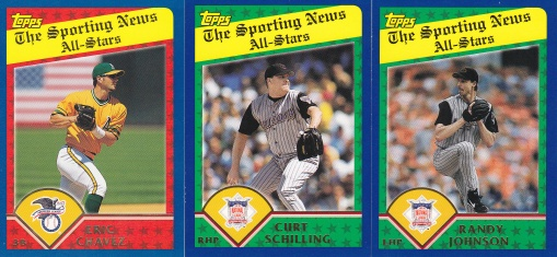 2003 Topps Sporting News All-Stars