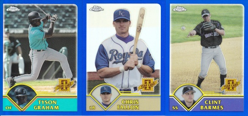 2003 Topps Traded Chrome Refractors